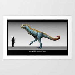 Carnotaurus Art Print