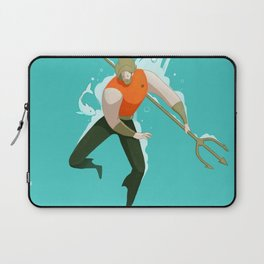 With the fishes Laptop Sleeve