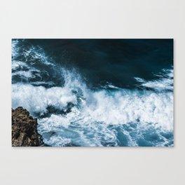 As Free As The Sea Canvas Print