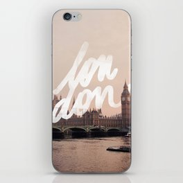 Brace yourselves, lots of London artwork are coming... iPhone Skin