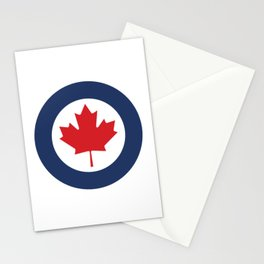Roundel of Royal Canadian Air Force  Stationery Cards