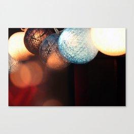 Fairy Lights.  Canvas Print