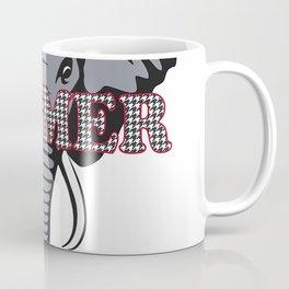 Alabama Rammer Jammer Houndstooth Elephant Tide Football T-Shirt Coffee Mug