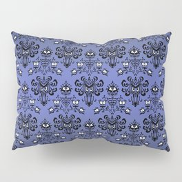 Owl Ghost and Cyclops Monster Pattern Art Pillow Sham