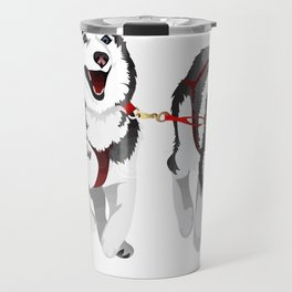 THE HUSKIES Travel Mug