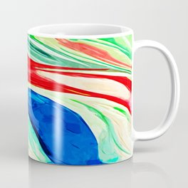 Abstract Lily Coffee Mug
