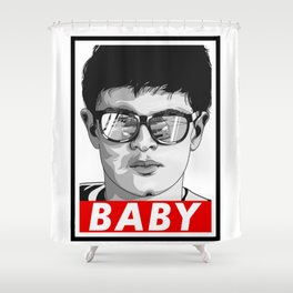 Baby Driver Shower Curtain