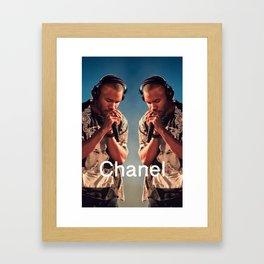 See Both Sides Framed Art Print