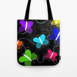 What's a butter fly? Tote Bag