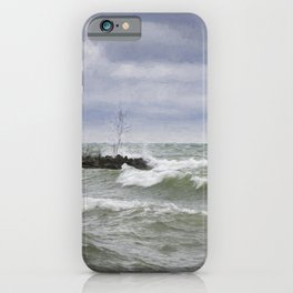 Rough Waters iPhone Case