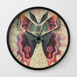 Saturnia divum orbis Wall Clock