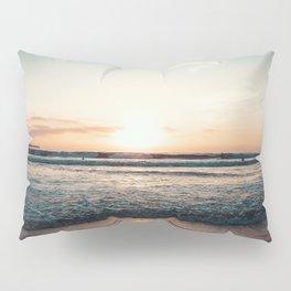 California, Los Angeles, beach, seaside, ocean, surf, downtown, Cali, SoCal Pillow Sham