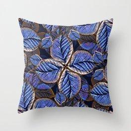 Fantasy Nature Pattern Print  Throw Pillow