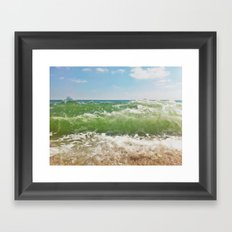 Salty ~ Framed Art Print