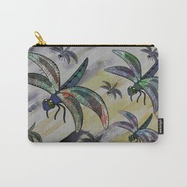 Earth Dragonflies Carry-All Pouch