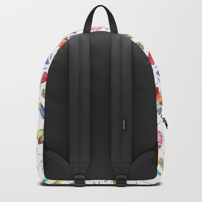 Colorful Bugs and Beetles Collection Backpack