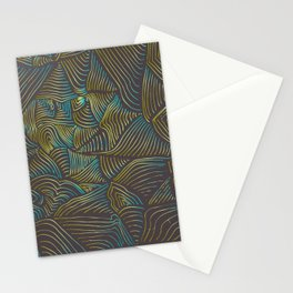LINES RETRO Stationery Cards