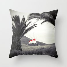The red mills Throw Pillow