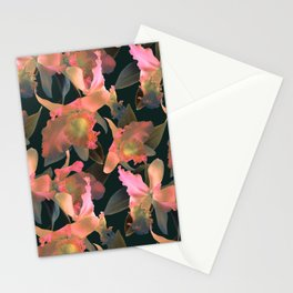 Sunset Orchid Stationery Cards