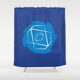 Sonic-Dash Shower Curtain
