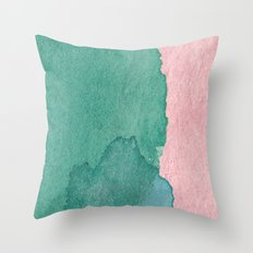 Water and Color 9 Throw Pillow