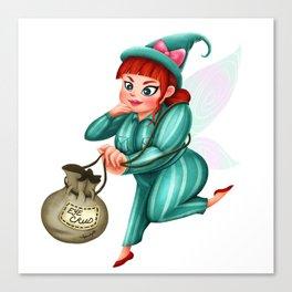 The Cruddy Fairies - Lola Canvas Print