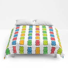 Rainbow Gummy Bears Comforters