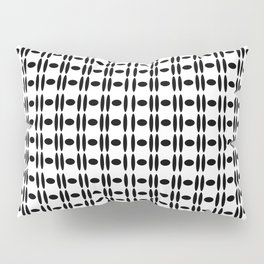 simply black pattern   (A7 B0023) Pillow Sham