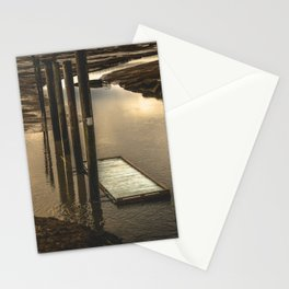 Washington Boat Launch Dock Stationery Cards