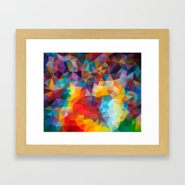 Polygon JLM Framed Art Print