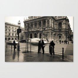 Budapest III. Canvas Print