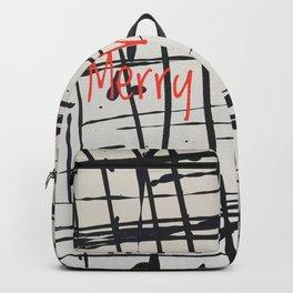 Best foot forward - Merry Christmas Backpack