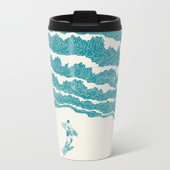 To the sea Metal Travel Mug