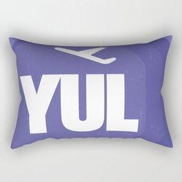 YUL Aeroports de Montreal Rectangular Pillow