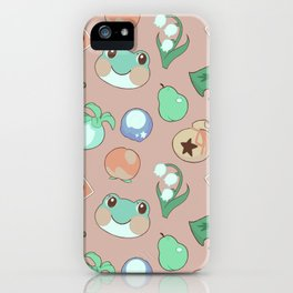 Lily's Stash - Animal Crossing iPhone Case
