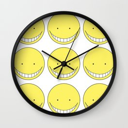 korosensei Assasination Classrom Wall Clock
