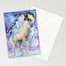 The Journey of Sun and Moon Stationery Cards
