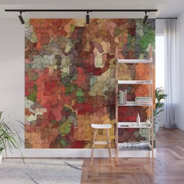 Autumn Inspired Torn Scraps 2492 Wall Mural