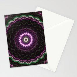 Mandala luci Stationery Cards