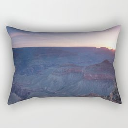 Beautiful Sunrise in the Grand Canyon Rectangular Pillow