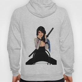 Samurai Warrior Girl - Lubna Hoody