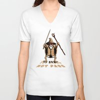 gandalf V-neck T-shirts featuring Muten Roshi Gandalf by le.duc