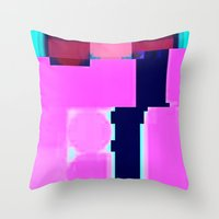 blur Throw Pillows featuring Blur by allan redd