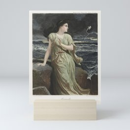 The Graphic Gallery of Shakespeare's Heroines (1896) - Miranda, from The Tempest Mini Art Print