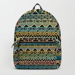 Aztec Teal Backpack