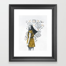 Fauchage Framed Art Print
