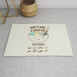 How to make a lovely day Rug