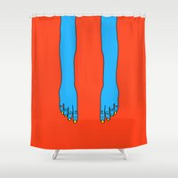 return Shower Curtains featuring Return of Forever by Tyler Spangler