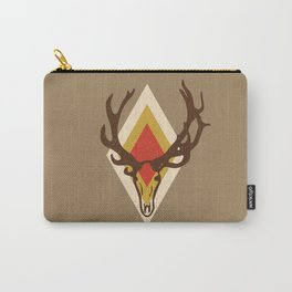 Stag Head Carry-All Pouch