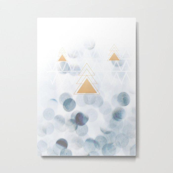 Winter Vibes Metal Print